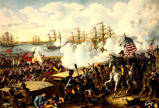 Bolivar, Padre Libertador. Bicentenario - Página 3 Battle_of_new_orleans-500